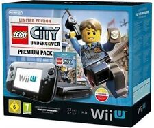 Console Nintendo Wii U (Dernier Modèle)- LEGO CITY Undercover Premium Pack 8 GB Noir (PAL)