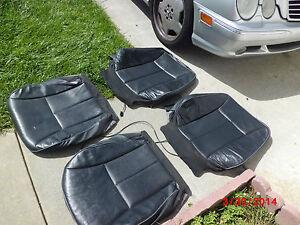 1998-2002 Mercedes-Benz W210 E430 E420 E320 E300 Front leather seat skin HEATED