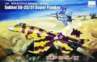 Trumpeter/MiniHobby  80309 1/48 SU-35/37 Super Flanker model kit ◆
