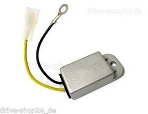 Universal Spannungsbegrenzer 6 V - 70 W Spannungsregler 6 Volt mit Anschlussplan