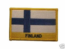 Finland Embroidered Flag patch-Iron on orSew
