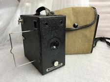 vintage houghton butcher ensign e29 1930's view portrait camera + case untested