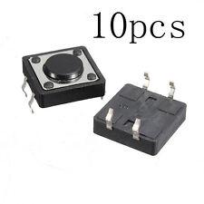 10pcs Quality Mini PCB Momentary Tactile Push Button Switch SPST TS