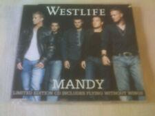 WESTLIFE - MANDY - LTD EDITION UK CD SINGLE - PART 1