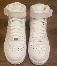 Nike Air Force 1 Mid '07 Causal Shoes - White - Men's - NEW