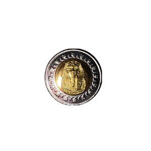 Rare 1 Pound Egyptian Coin (2008) Mask Of Tutankhamun