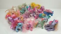 Large lot of 18 Vintage My Little Pony G1 G2 G3 1980s 1990s 2000s
