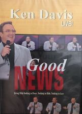 Ken Davis Live!Good News-Christian Stand-Up Comedy DVD 2002-RARE VINTAGE-SHIP24H