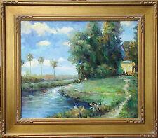 "Bart ""Santa Barbara"" Original Oil Painting on Canvas Framed Fine Art OBO"