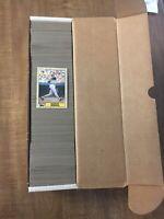 1987 Topps Baseball Full Set W/ Incl. Barry Bonds #320 Error Rookie Card**WOW**