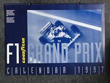 Goodyear f1 Motorsport fórmula 1 calendario Calendar calendario de pared 1997 nuevo póster!