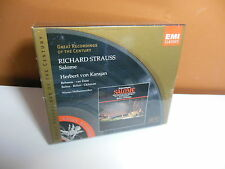 Richard Strauss: Salome von Karajan CD 1999 2 Discs NEW But Please Read!