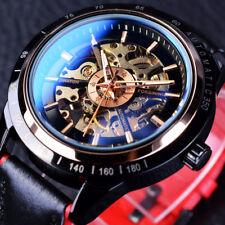 Watch Man Leather Automatic Men S Winding Strap Wrist Calendar Self Mechanical