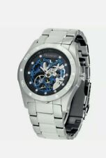Armitron Automatic Skeleton 20/4406TSV TY2807BL Metallic Blue Accents Watch