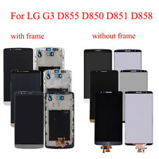 OEM For LG G3 D850 D851 D855 LCD Display & Frame Touch Screen Digitizer Assembly