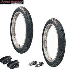 SET: 2 Reifen VRM 087 (2,25 x 16 - 2 1/4) 2x Schlauch 2x Felgenband Simson Moped