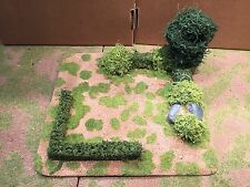 28mm, Painted Terrain, Large Hedged Field, WW2,AWI,ACW and more (C)
