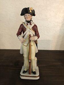 Vintage Porcelain Soldier Figurine Infantry Of Pennsylvania