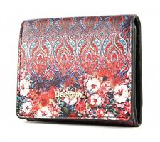 Desigual Mone Freya Square Wallet Purple Potion Red Blue NEW