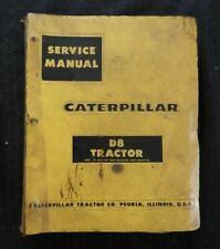 1970 CATERPILLAR D8 CRAWLER TRACTOR SERVICE REPAIR MANUAL SER # 35A1 36A1 46A1