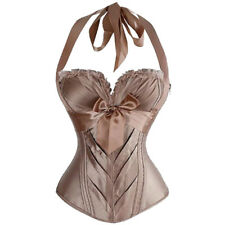 Corsets And Basques Lace Up Lingeries Boned Plus Size Burlesque Costume Bustiers