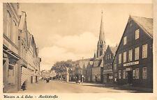 Winsen (Luhe) Marktstrasse, Geschäfte Foto Karte 1942