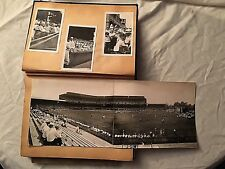 HISTORIC AUGUST 13, 1934 DETROIT TIGERS V. ST LOUIS CARDINALS BASEBALL SCRAPBOOK