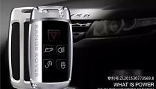 ALUMINIUM key chain holder shell case fit Land Range Rover Discovery Evoque fob