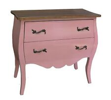 Shabby Chic Painted French Style Chest of Drawers Bedroom Pink