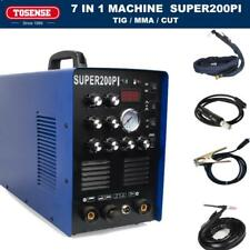 NEW ALUMINIUM WELDING MACHINE 200A AC/DC PULSE TIG/MMA WELDERS 50A PLASMA CUTTER