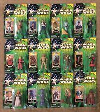 Star Wars POTJ Jedi Force File Action Figures Lot of 12 NIB