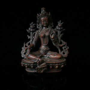 Chinese Copper Figures Sculpture Carved Buddha Statue BS022