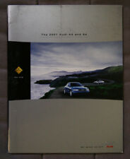 AUDI A4 and S4 2001 Dealer Brochure - English - North American Market