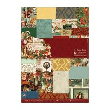 Victoria Christmas A4 Paper Pack  42 sheets 42 designs great for cards and craft