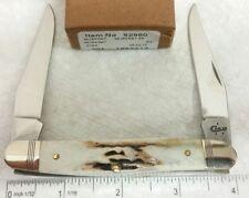 Case XX V Muskrat knife, 2017 Vintage Stag handles, 52960