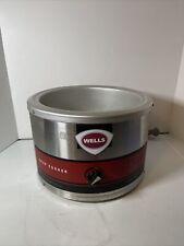 Wells 11 Quart Countertop Soup Cookerwarmer Llsc 11 120v