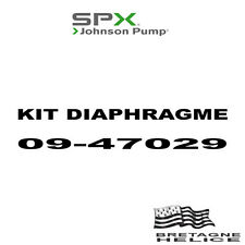 KIT DIAFRAMMA PER POMPA JOHNSON WPS 2.4/2.5 09-47029