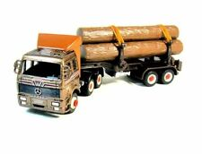 MERCEDES-BENZ TRUCK, METALLIC BROWN WELLY DIECAST CAR/TRUCK COLLECTOR'S MODEL