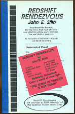 Redshift Rendezvous by John E. Stith-1st Edition-1990-Uncorrected Proof Copy