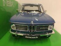 BMW 2002 Ti - Blue Welly 24053 1:24 Scale