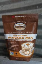 Wheat Montana Whole Wheat with Flax Pancake Mix,NON-GMO,Chem Free (2-2 lb bags)
