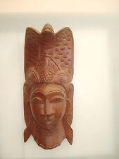 Kleine Asiatische Maske Holzmaske  Asian Mask Wood Holz