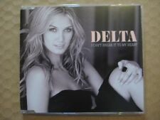 DELTA GOODREM  I Can't Break It To My Heart RARE AUSSIE CD SINGLE 2008 LIKE NEW
