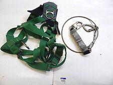 MSA SAFETY HARNESS 10020062 WITH MSA FP5K LANYARD