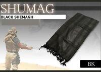 BLACK ARAB SHEMAGH SCARF NOT SCRIM BRITISH ARMY SAS SF PARA -Pashmina Keffiyeh