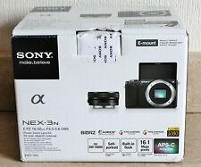 Sony Alpha NEX-3N 16.1MP Digital Camera Body + SELP 16-50mm OSS Lens - BLACK.