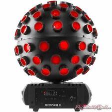 Chauvet DJ Rotosphere Q3 Quad-Color LED Mirror Ball Simulator Club Stage Light