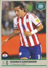 384 FEDERICO SANTANDER PARAGUAY STICKER ROAD TO RUSSIA WORLD CUP 2018 PANINI