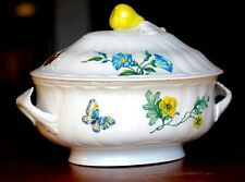 Villeroy & Boch Porcelain Lidded Vegetable Dish, Retired Bouquet Pattern