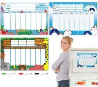 CKB LTD® MAGNETIC REWARD CHART Good Behaviour Dry Wipe Fridge Whiteboard Board
